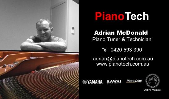 pianotech new card